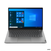 "Lenovo ThinkBook 14 DDR4-SDRAM Notebook 35.6 cm (14"") 1920 x 1080 pixels AMD Ryzen 7 16 GB 512 GB SSD Wi-Fi 6 (802.11ax) Windows 10 Pro Grey"