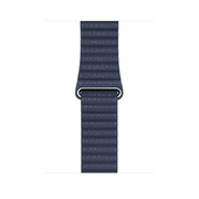Apple MGXD3ZM/A smartwatch accessory Band Blue Leather