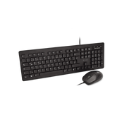 V7 Washable Antimicrobial Keyboard & Mouse Combo, USB, Optical, IP68Spec, Waterproof