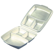 Papstar 12045 lunch box Lunch container Expanded polystyrene (EPS) Beige 50 pc(s)