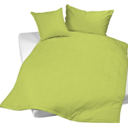 Balsiger Textil Edi duvet cover Lime Cotton