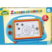 Simm Spielwaren Magic drawing board, small kids' magnetic drawing board