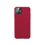 """Xqisit Silicone mobile phone case 13.7 cm (5.4"""") Cover Red"""