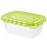 Rotho Sunshine Oval Box 0,5 l Limette, Transparent 1 Stück(e)
