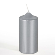 Papstar 13669 wax candle Cylinder Silver 1 pc(s)