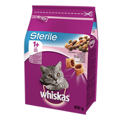 ‎Whiskas Sterile cats dry food 800 g Adult Salmon