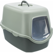 TRIXIE Vico Cat Hooded litter box Green, Grey