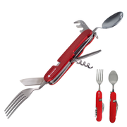 Top Spirit - Design & Quality PP58-026 Taschenmesser Multi-Tool-Messer Rot