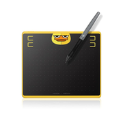 HUION HS64 Special Edition Graphics Pen Tablet graphic tablet Black, Yellow 5080 lpi 160 x 102 mm USB