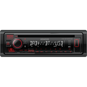 Kenwood KDC-BT450DAB car media receiver Black 50 W Bluetooth