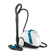 Polti Vaporetto Smart 100_B Cylinder steam cleaner 1500 W Blue, White