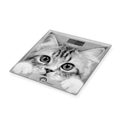 Little Balance The Cat Square Grey Electronic personal scale