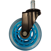 LC-Power LC-CASTERS-7LB-SPEED office/computer chair part Blue Plastic, Rubber Castor wheels