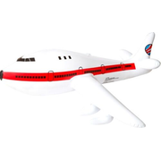 Vedes Splash & Fun Inflatable airplane Bath toy Red, White