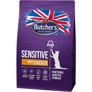 Butcher's Pet Care Sensitive cats dry food 800 g Adult Chicken