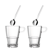 LEONARDO Senso cup Translucent Coffee 2 pc(s)