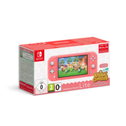 """Nintendo Switch Lite (Coral) Animal Crossing: New Horizons Pack + NSO 3 months (Limited) portable game console 14 cm (5.5"""") 32 GB Touchscreen Wi-Fi"""