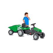 Jamara Pedal tractor Strong Bull with trailer