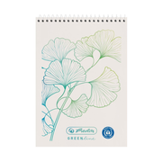 Herlitz GREENline writing notebook A7 50 sheets White