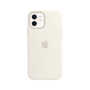 Apple iPhone 12 | 12 Pro Silicone Case with MagSafe - White