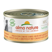 Almo Nature HFC Natural Chicken with Carrots and Rice Huhn, Gemüse Adult 95 g