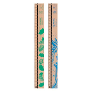 Herlitz 50033621 ruler Desk ruler 30 cm Wood Brown 10 pc(s)