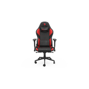 SPC Gear SR600 RD Gaming armchair Padded seat Black, Red