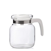 Montana 057865 teapot Single teapot 1250 ml Transparent, White