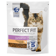 Perfect Fit Junior cats dry food 750 g Adult Chicken