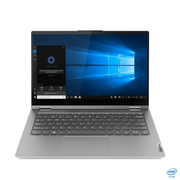 "Lenovo ThinkBook 14s Yoga DDR4-SDRAM Hybrid (2-in-1) 35.6 cm (14"") 1920 x 1080 pixels Touchscreen 11th gen Intel® Core™ i5 8 GB 256 GB SSD Wi-Fi 6 (802.11ax) Windows 10 Pro Grey"