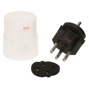 Max Hauri AG 138224 power plug adapter Black
