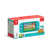 "Nintendo Switch Lite (Turquoise) Animal Crossing: New Horizons Pack + NSO 3 months (Limited) portable game console 14 cm (5.5"") 32 GB Touchscreen Wi-Fi"