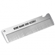Pechkeks 3801001 hairbrush/comb Adult Hair comb Silver 1 pc(s)