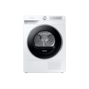 Samsung DV80T6220LH tumble dryer Freestanding Front-load 8 kg A+++ White