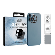 EIGER 3D GLASS Black, Transparent Tempered glass 0.33 mm Apple iPhone 12 Pro