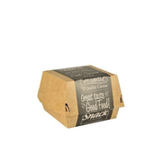 Papstar 86634 disposable food storage container Cardboard Beige