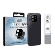 EIGER 3D GLASS Black, Transparent Tempered glass 0.33 mm Apple iPhone 12 Mini