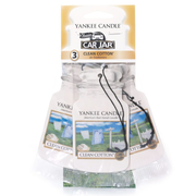 Yankee Candle Clean Cotton Bonus Pack Hanging cardboard freshener