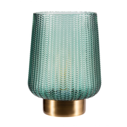 Pauleen Pretty Glamour table lamp E27 Brass, Turquoise