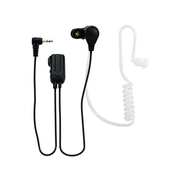 Alecto FRH-10 DUO headphones/headset In-ear Blueberry, Transparent