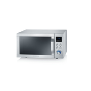 Severin MW 7751 microwave Countertop Grill microwave 20 L 800 W Silver, Stainless steel
