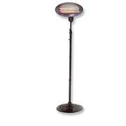 Olympia BS 55 Black 2000 W Infrared electric space heater