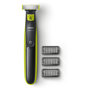 Philips OneBlade QP2520/20 beard trimmer Wet & Dry Charcoal, Lime