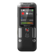 Philips DVT2710 dictaphone Internal memory & flash card Anthracite, Chrome