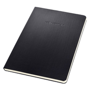 Sigel CONCEPTUM writing notebook A5 120 sheets Black