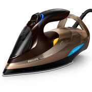 Philips GC4936/00 iron Steam iron SteamGlide Advanced 3000 W Black, Brown