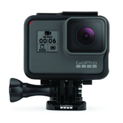 GoPro HERO6 Black, 4K Ultra HD, 12 MP, 240 fps, GPS (satellite), Wi-Fi, Bluetooth