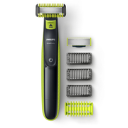 Philips Norelco OneBlade QP2620/20 beard trimmer Wet & Dry Black, Green, Lime