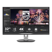 Philips P Line LCD monitor with USB-C Dock 328P6VUBREB/00