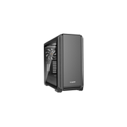 be quiet! Silent Base 601 Window Midi Tower Black, Silver
